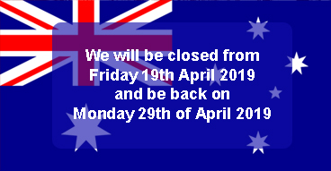 Easter & Anzac Day Trading